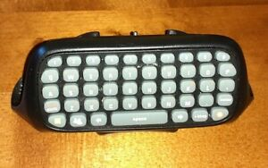 3RD PARTY MICROSOFT XBOX 360 CHATPAD CHAT PAD KEYBOARD IN VGWC + FREE UK POST