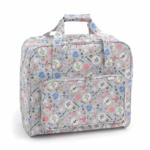 HobbyGift Sewing Machine Bag - Homemade Design - Matt PVC Storage Crafts