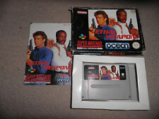 Super Nintendo, Snes - lethal weapon - 100% boxed