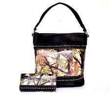 American Bling Western Designer Handbag With Matching Wallet Set AB-2410 GN