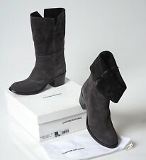 COSTUME NATIONAL BOOTS CROSTA NERO BLACK WOMEN SIZE 7 NEW W/BOX