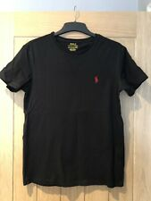 Polo By Ralph Lauren Black T-shirt Size XS