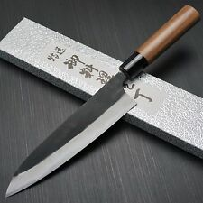 Japanese YAMAMOTO AOGAMI Blue Steel #2 Gyuto Chef Knife 180mm Echizen Japan