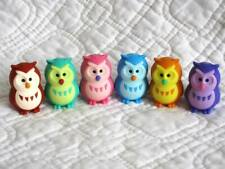 Owl Eraser Puzzles from Japan by iwako Set of 6, Collectable, 20% off 2 or more