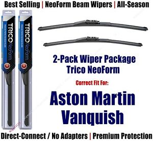 2-Pack Super-Premium NeoForm Wipers fit 2014+ Aston Martin Vanquish 162515/2015