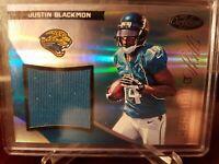 2012 Certified Skills Materials #250/299 Justin Blackmon #25 Rookie
