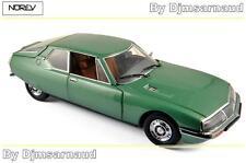 Citroën SM de 1971 Green Métallic NOREV - NO 181567 - Echelle 1/18