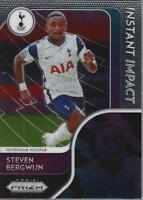 2020-21 Panini Prizm English Premier League Instant Impact #6 Steven Bergwijn
