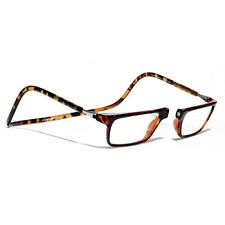 CliC +3 Diopter Magnetic Reading Glasses: Executive - Tortoise