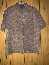 Polo by Ralph Lauren XL Caldwell short sleeve pocket Multicolor button up Shirt