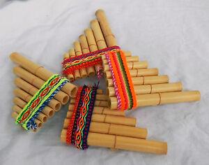 Peruvian Pan Pipes - Small Size - BNWT