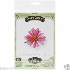 Sizzix Thinlits Die Set of 6 Susan's garden Flower, Gazania Item 658860