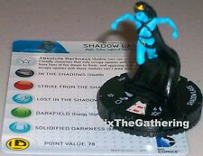 SHADOW LASS #035 Superman and the Legion of Super-Heroes DC HeroClix Rare