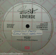 "LOVERDE ~ Iko Iko / San Francisco Serenade ~ 12"" Single"