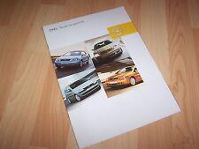 Catalogue / Brochure OPEL Gamme / Full line 2002 //