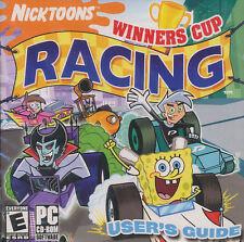 Nicktoons WINNERS CUP RACING - Classic Nickelodeon Kids Arcade PC Game - SEALED