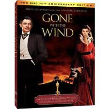 Gone With the Wind (DVD, 2-Disc Set, 70th Anniversary Edition) Clark Gable NEW