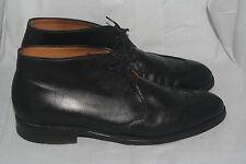 Cheaney black ankle dress boots split toe men US 11 UK 10 Made in England