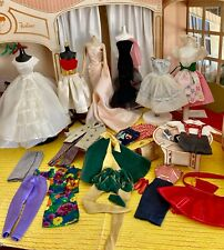 VINTAGE BARBIE & KEN HUGE LOT OF  OUTFIT PIECES WITH HARD TO FIND ITEMS