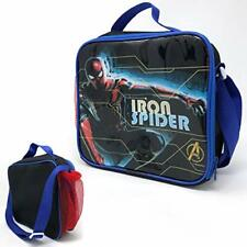 Templar Iron Spider Children's Insulated Lunch Bag with Side Pocket