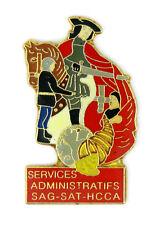 Pin's pin badge ♦ SAPEURS POMPIERS PARIS SERVICES ADMINISTRATIFS