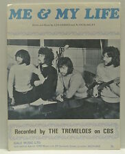 Sheet Music. Me & My Life, Words and Music by Len Hawkes and Alan Blakley. 1970