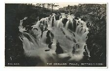 Wales - The Swallow Falls, Bettws-y-Coed RP PPC, Unposted, c 1920's