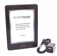 "Amazon Kindle Voyage E-reader, 6"" Wi-Fi + 3G, Black  43-4D"