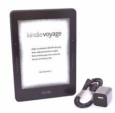 "Amazon Kindle Voyage E-reader, 6"" Wi-Fi, Black, Scratch & Dent, 5-3B"