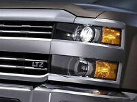 OEM Grille LTZ Emblem Badge Chery Silverado 1500 2500HD LTZ Suburban L Chrome