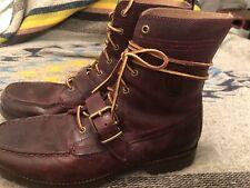 EUC POLO RALPH LAUREN RANGER BOOT SZ 11.5D Brown VINTAGE 14557 Leather