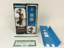 "custom vintage Star wars rotj 12"" princess leia slave box + inserts version 1"