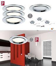 Paulmann EBL- 3er Set Premium Line Dot LED Alu geb. 3x8W Dimmbar UVP 159,00€