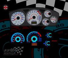 Mitsubishi Evo 7-8-9 speedo dash interior lighting upgrade dial kit