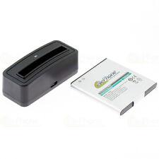 Akku-Ladestation + Akku für Samsung Galaxy S GT-I9000 GT-19000 EB-575152VU