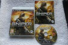 SNIPER GHOST WARRIOR PS3 V.G.C. FAST POST ( tactical shooter & stealth game )