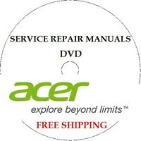 ACER REPAIR SERVICE PDF MANUALS DVD LAPTOP TABLET NOTEBOOK NETBOOK MONITOR