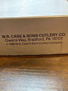 W. R. Case And Sons CaseXX  5 Dot 1995 Kodiak-Stag- Sheath Knife