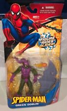 "Marvel Legends Spider-Man Green Goblin Action Figure New 6"" Hasbro Glider 2009"