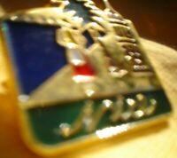 PIN ON METAL BADGE BROOCH ORIGINAL APPROX 4 CM ...NICE......