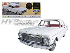 GREENLIGHT 1:18 1965 FORD XP FALCON W/ MAG WHEELS DIE-CAST WHITE DDA003-B