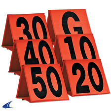 Champro Sports® Non-Weighted Collapsible Football Sideline Yard Markers