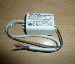 Transformateur 230v 12V DC driver LED Anway AW01-0001