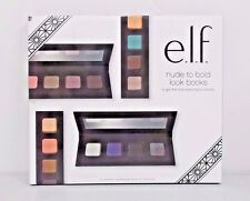 NEW e.l.f. ELF Eyeshadow Palette set nude to bold 4 get the look books NIB