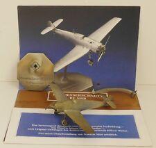 Franklin Mint Messerschmitt BF 109B Jubiläumsmodell Rarität 1:72 Zinn-Modell