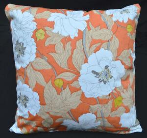 Pillow Cover*A-Grade Cotton Canvas Sofa Seat Pad Cushion Case Custom Size*Lf4