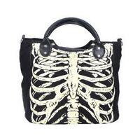 Skulls Bags Skeleton Bones Luminous Gothic Rock Designer Casual Women Punk Bag