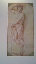 Cellini's Satyr Limited Edition Print Old Master Drawing