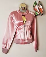 Ted Baker Pale Pink Satin Embroidered Evening Blazer Style Jacket 12 TB3*Dress L