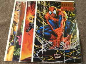 1993 MARVEL Comics MARVEL MASTERPIECES Collection #1-4 Complete JOE JUSKO -NM/MT